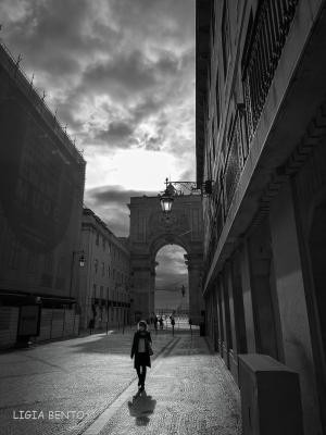 Fotografia de Rua/e o dia tornou-se noite