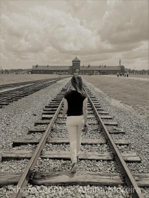 /A caminho de  Auschwitz