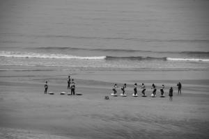 Gentes e Locais/Manhã de aula de surf