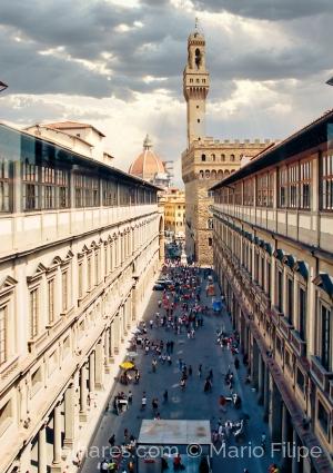 Arquitetura/Galleria degli Uffizi ( ANALÓGICO )