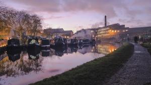 Paisagem Natural/Marple Canal, UK