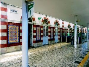 /A bela estação de Sintra