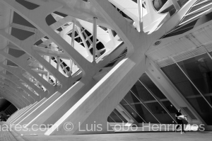 Arquitetura/passeio de aço