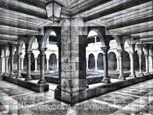 História/o claustro da Sé de Lamego