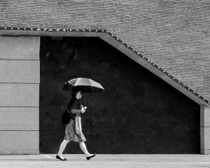 /Woman with parasol