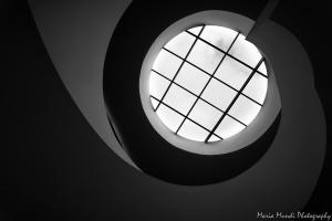 Arquitetura/o movimento ondulatório da Escadaria