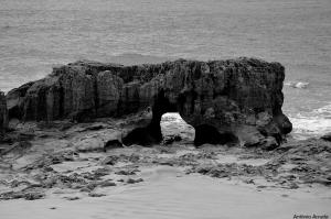 Paisagem Natural/Erosão do Mar