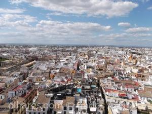 Paisagem Urbana/Sevilha vista do alto