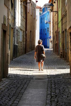 """Paisagem Urbana/""""Rua de Chaves."""""""