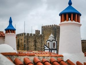 /Torres, telhados e chaminés - Óbidos