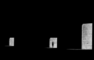 Gentes e Locais/three doors....