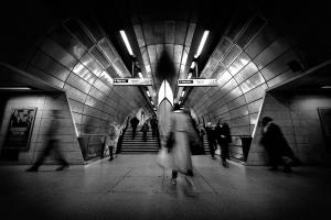 Paisagem Urbana/Com ponteiros nos pés