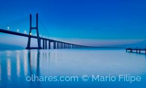 Arquitetura/30 seconds of Deep blue in Lisbon