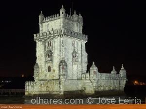 Gentes e Locais/Torre de Belém – Lisboa  Vista noturna