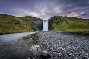 Paisagem Natural/Skogafoss - Iceland