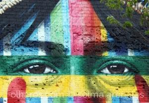 Fotografia de Rua/Olhos...arte nas ruas...
