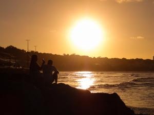 Paisagem Natural/por do sol em Cabo Branco