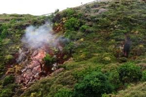 Paisagem Natural/Furnas do Enxofre ilha terceira........