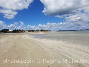 Paisagem Natural/Praia de itaparica. Vazia