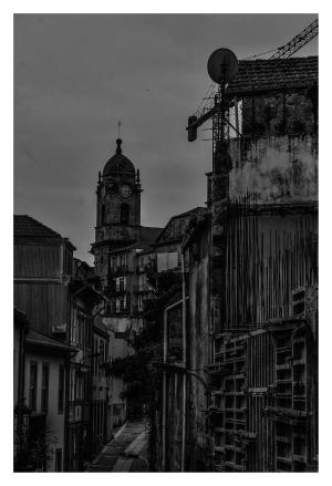 Paisagem Urbana/O passado e o presente......