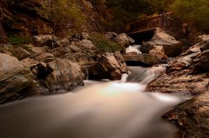 Paisagem Natural/O velho moinho de água