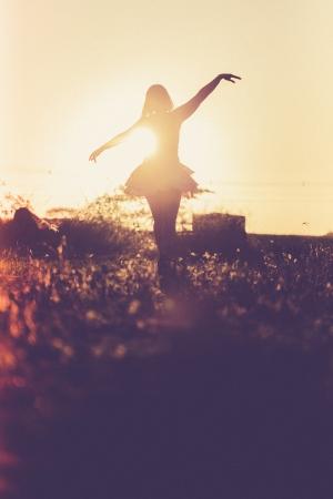 Retratos/Feliz no por do sol