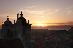 Paisagem Urbana/Pôr do sol do Terreiro da Sé, Porto