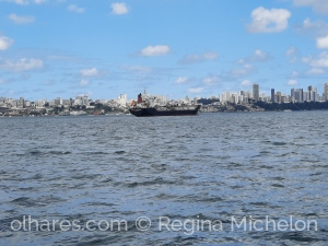 Paisagem Urbana/Salvador vista do mar