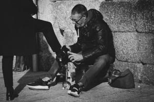 Fotografia de Rua/Engraxador de sapatos