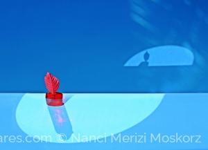 /Azul e Vermelho - Geometria