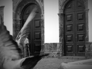 Fotografia de Rua/As asas da Paz numa oração
