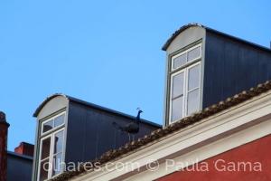 Paisagem Urbana/Quando nos espreitam pela janela...