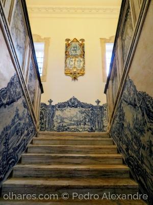 /Escadaria do Palácio da Tocha