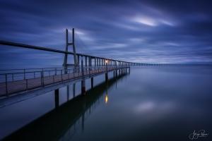 Paisagem Natural/Deep Blue (Ponte Vasco da Gama)