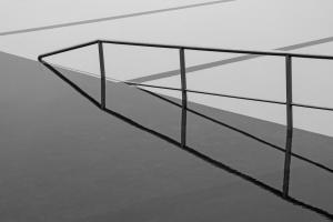 Abstrato/Espelho de água