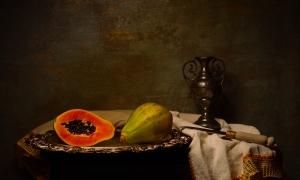 Outros/Natureza-morta com papaias