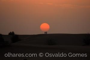 Gentes e Locais/Fim da tarde no deserto.