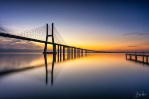 Paisagem Natural/Ponte Vasco da Gama