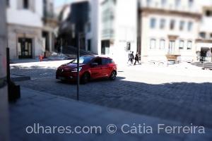 Fotografia de Rua/O carro vermelho!