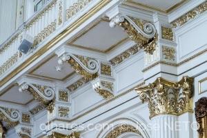 Retratos/o dourado na arquitetura