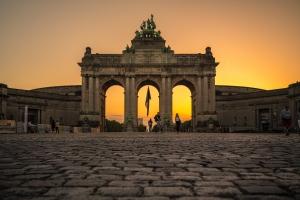 Fotografia de Rua/sunset arch
