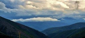 Paisagem Natural/acima das nuvens  S. Estrela