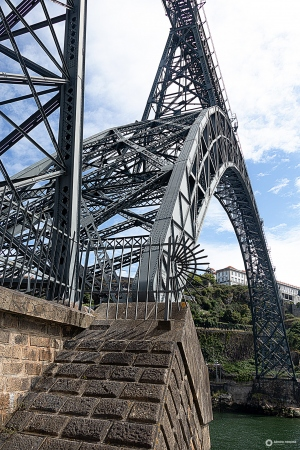 História/Ponte D. Maria Pia, Porto
