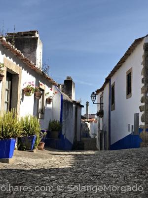 Gentes e Locais/Entardecer em Óbidos