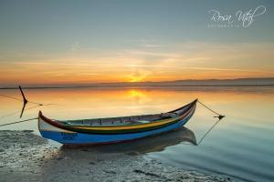 Paisagem Natural/Barco de pesca