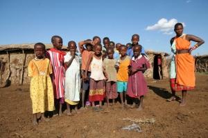 Gentes e Locais/família  Massai...