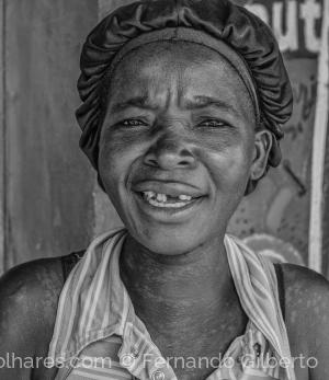 Retratos/Rosto africano V