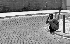 Fotografia de Rua/Telefonema para casa