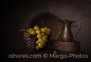 /Green grapes