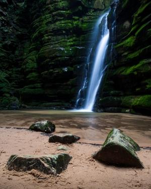 Paisagem Natural/Cachoeira Buraco do Padre